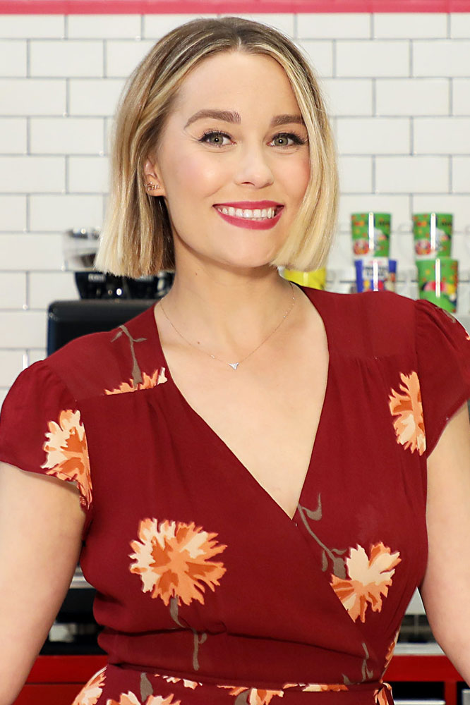 Lauren Conrad Launches the Kellogg's NYC Cafe in Union Square
