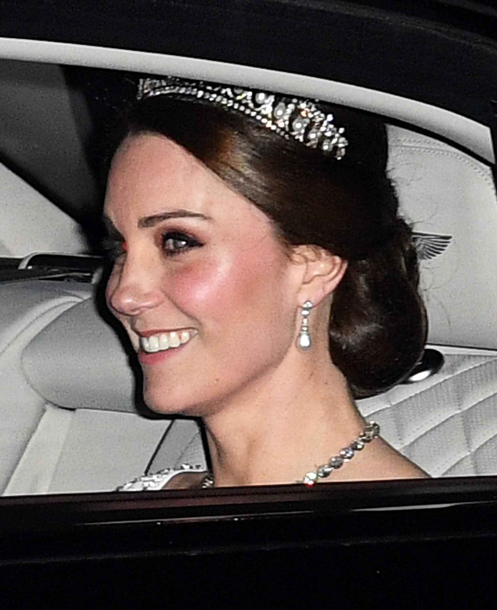 Princess Kate attends Queen's Diplomatic Reception