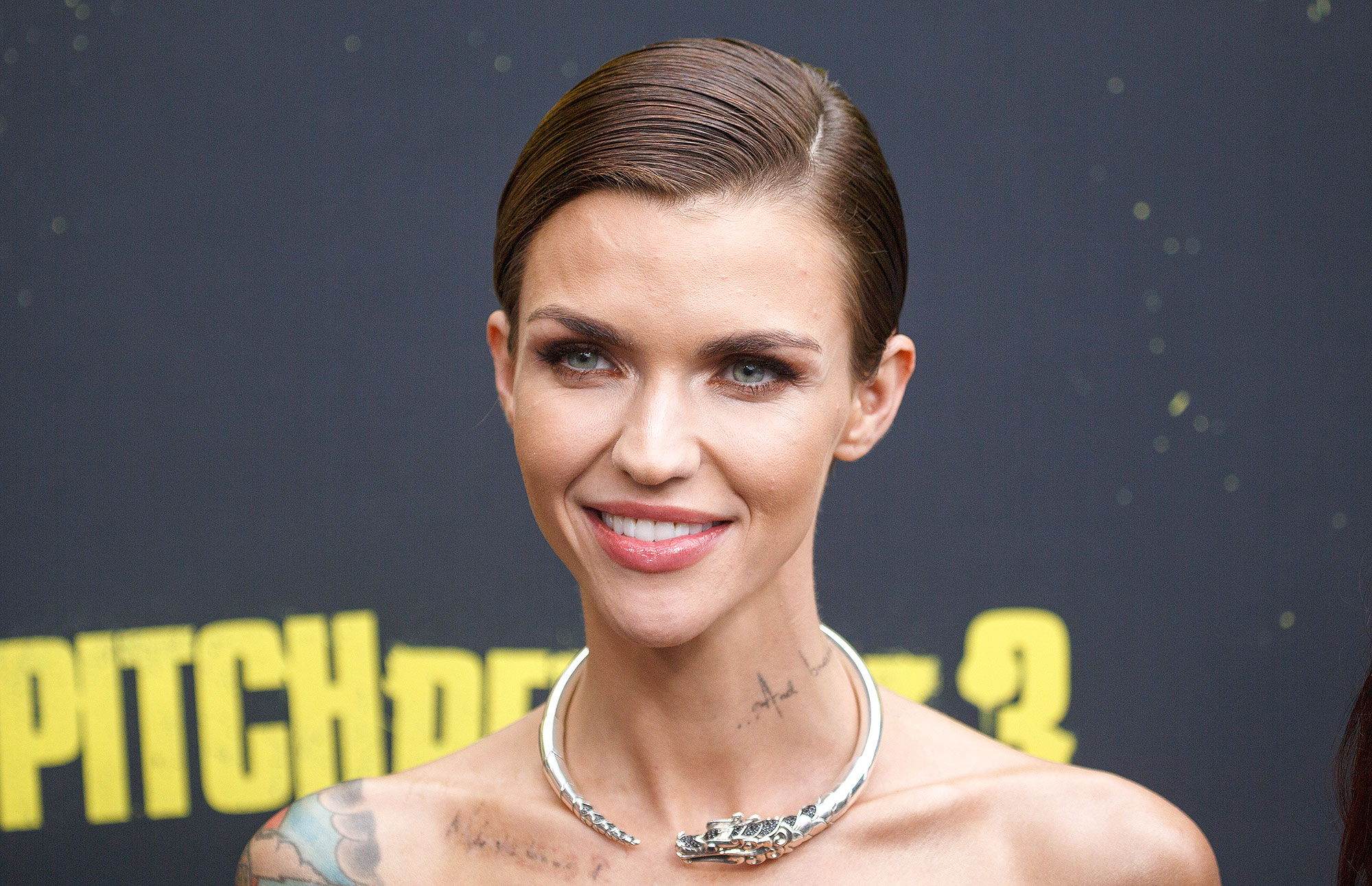 Ruby Rose and Red Carpet Arrivals for Sydney premiere of Pitch Perfect 3