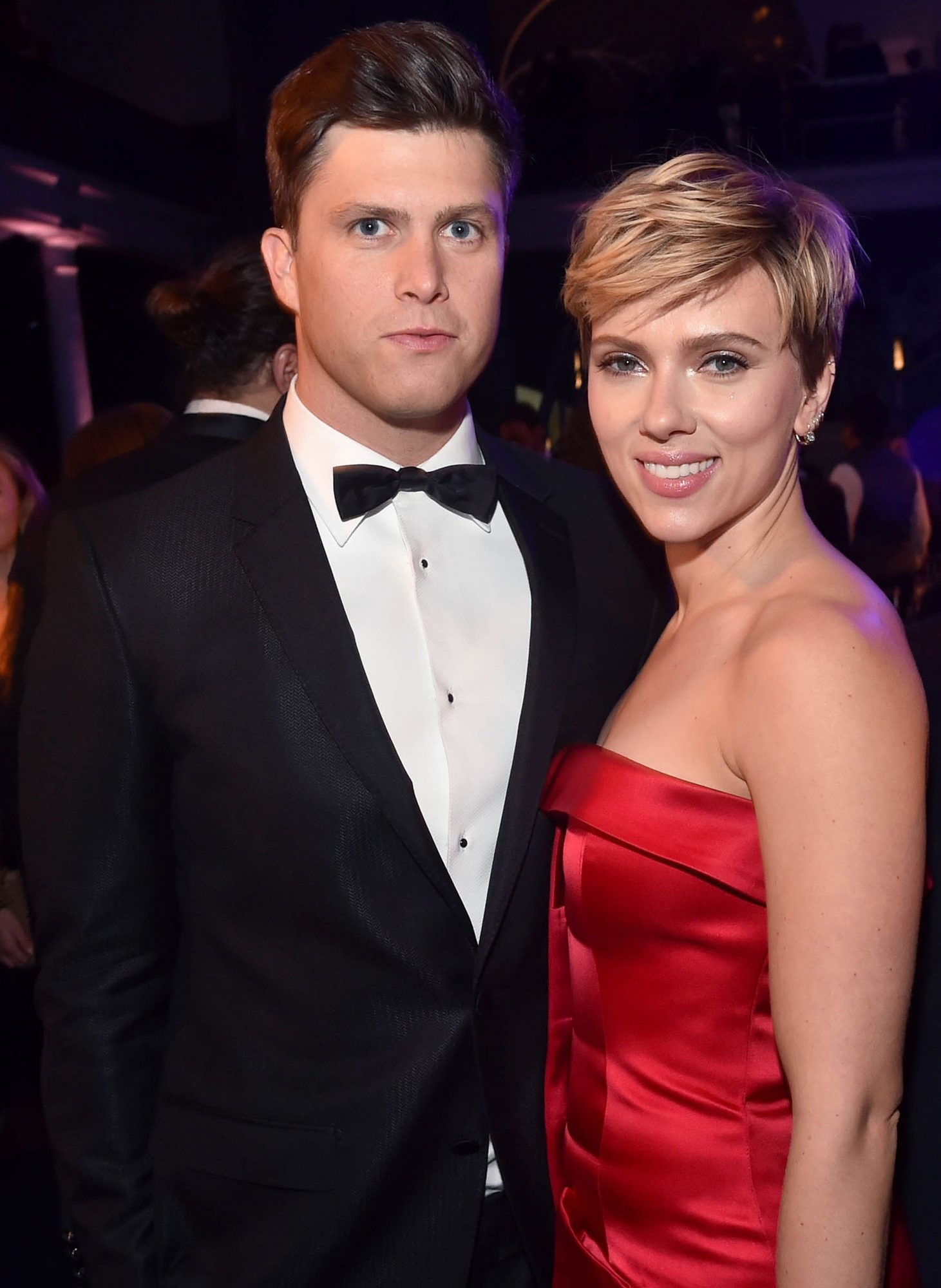 Scarlett Johansson And Colin Jost Everything We Know People Com