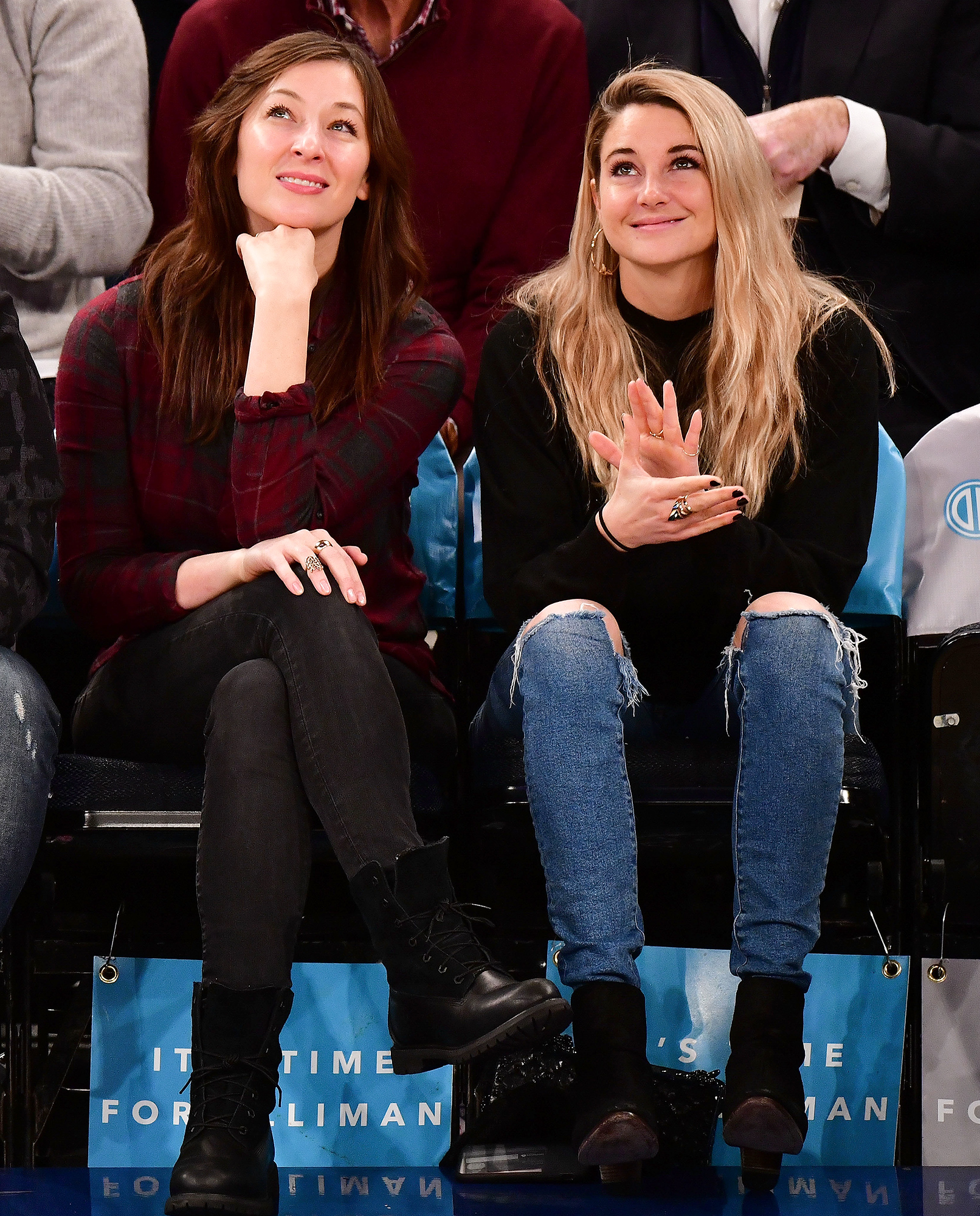 Celebrities Attend The New York Knicks Vs Memphis Grizzlies Game