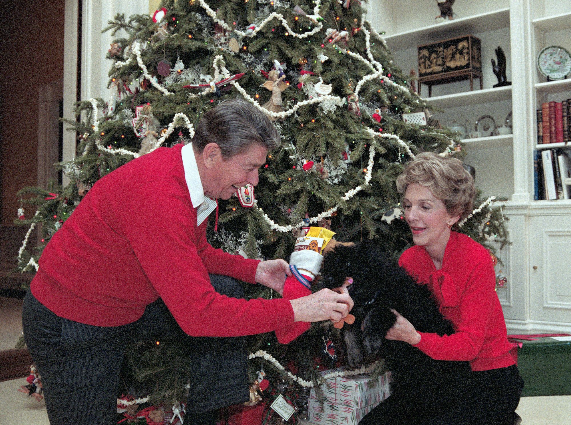 President and Nancy Reagan