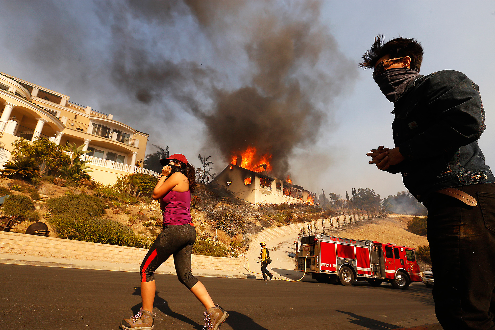 Ventura County Thomas Fire Forces Thousands to Evacuate