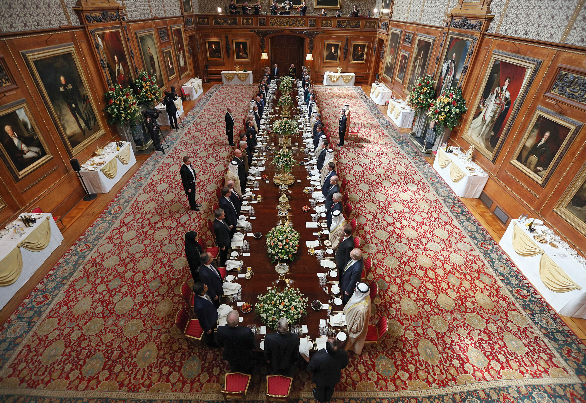 Queen Elizabeth II Hosts A Lunch For The State Visit Of The President Of The United Arab Emirates
