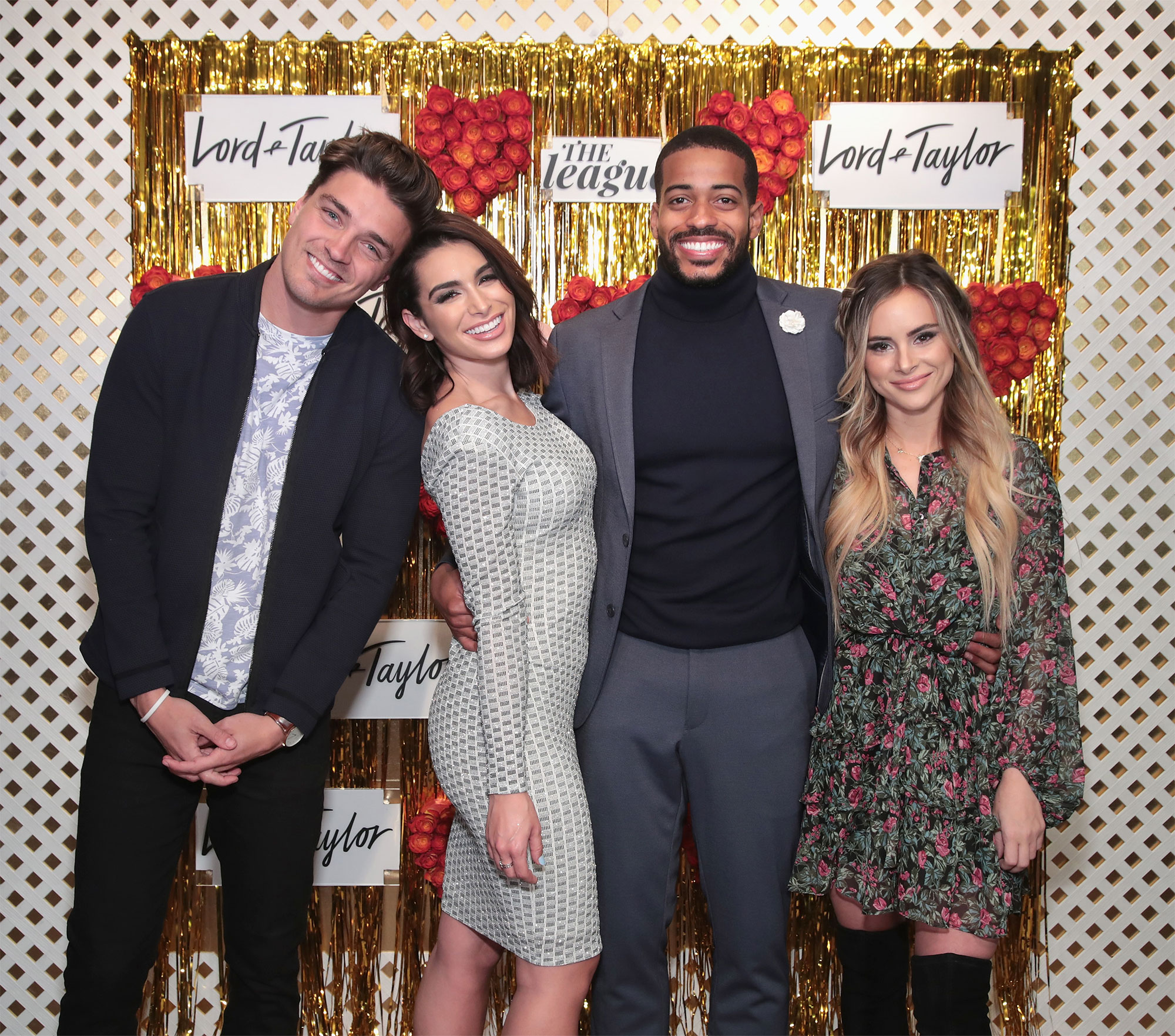 Lord & Taylor, The League Valentine's Day Speed Dating With Dean Unglert, Amanda Stanton, Ashley Iaconetti, And Eric Bigger