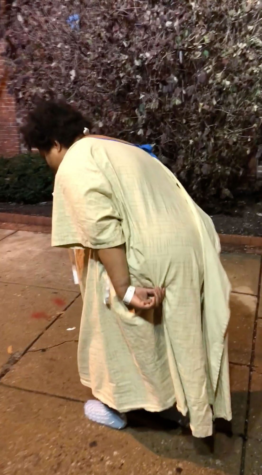 Video Shows Baltimore Hospital Staff 'Dumping' Patient Outside in the Cold: 'This Is Disgusting!'