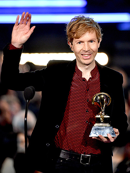 2015: BECK BEAT OUT BEYONCé FOR BEST ALBUM