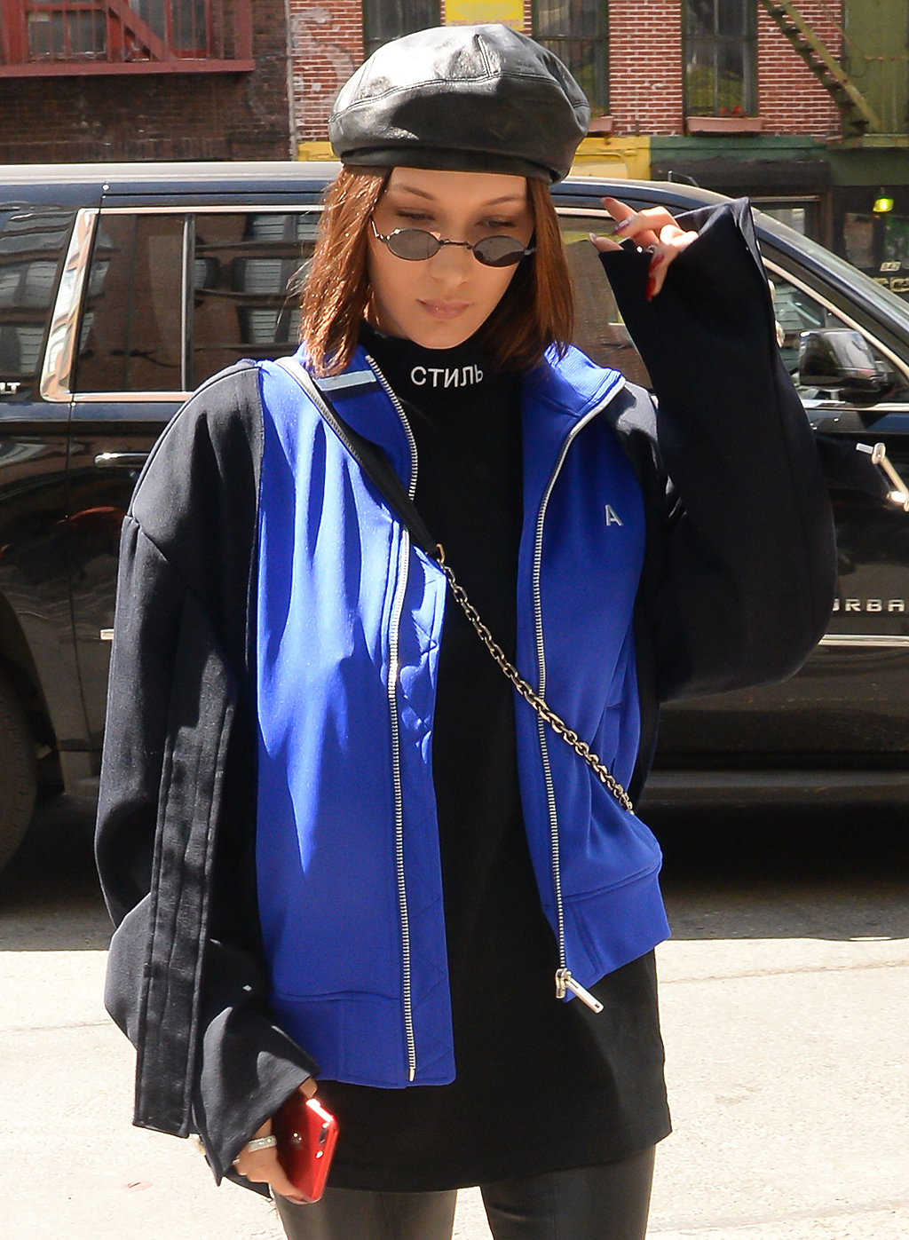 Celebrity Sightings in New York City - May 3, 2017