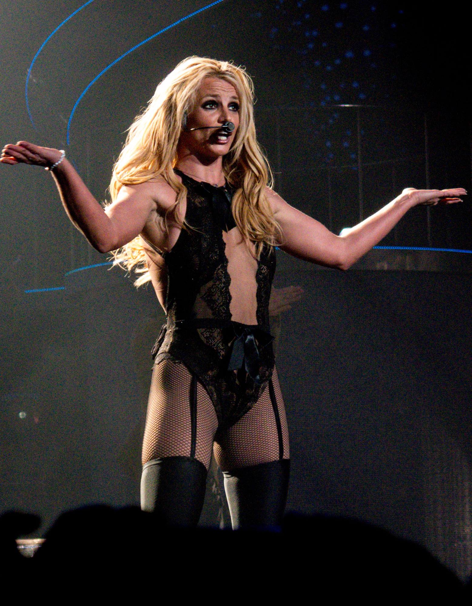 Britney Spears brings a triumphant end to her 4 year residency at the AXIS at Planet Hollywood in Las Vegas, CA