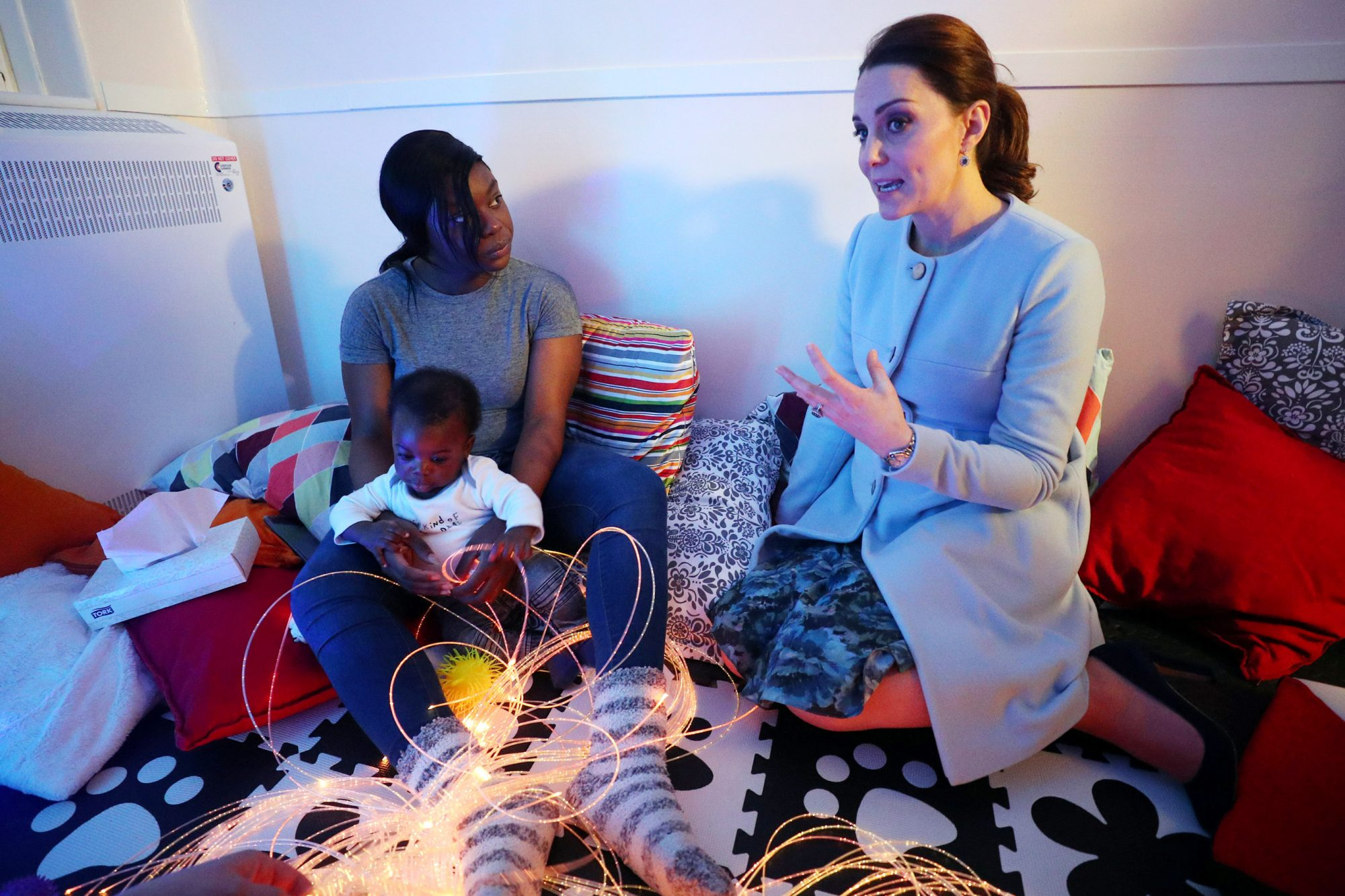 The Duchess Of Cambridge Visits Kings College London