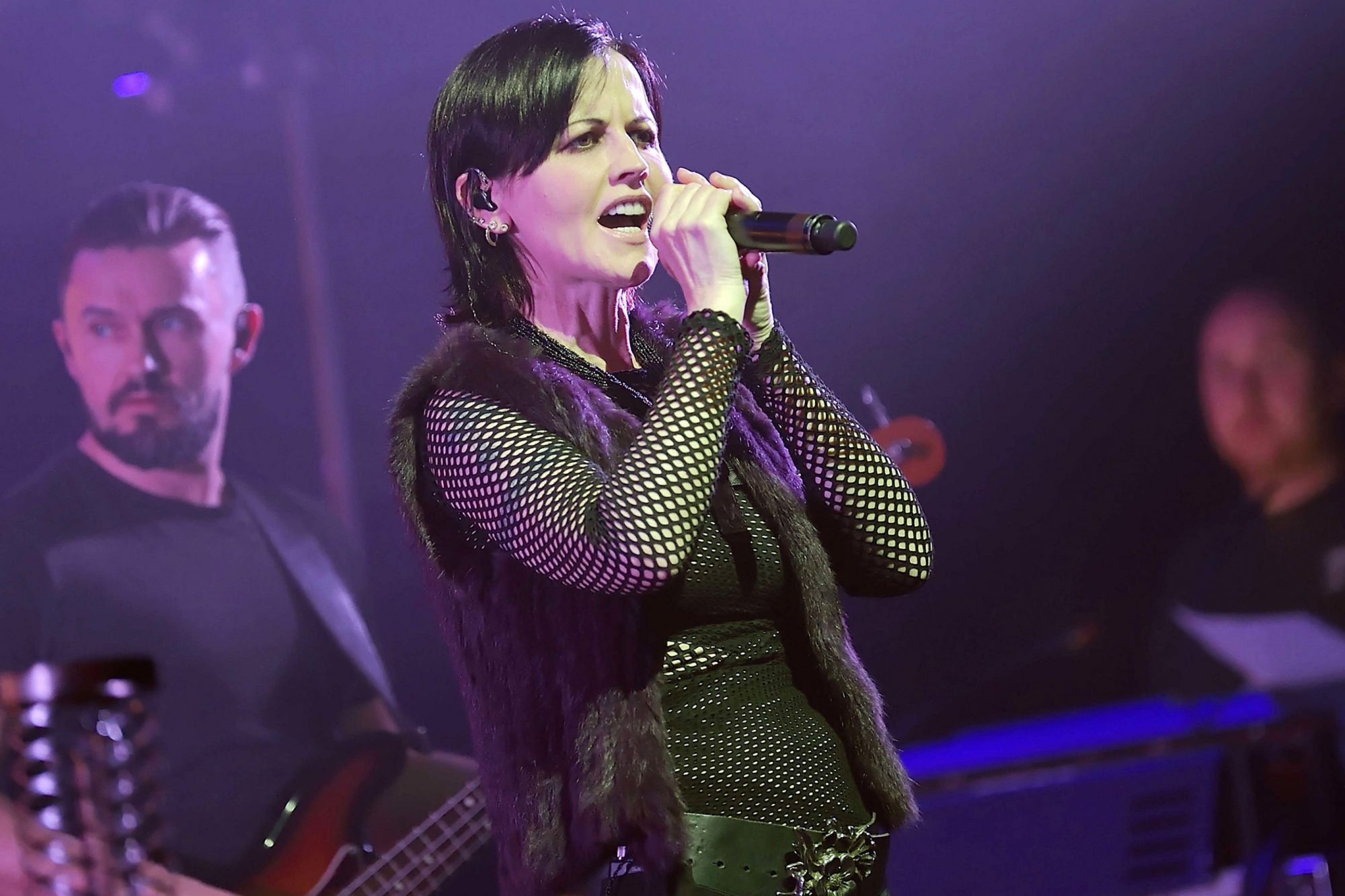 The Cranberries in concert, Olympia. Paris, France - 04 May 2017