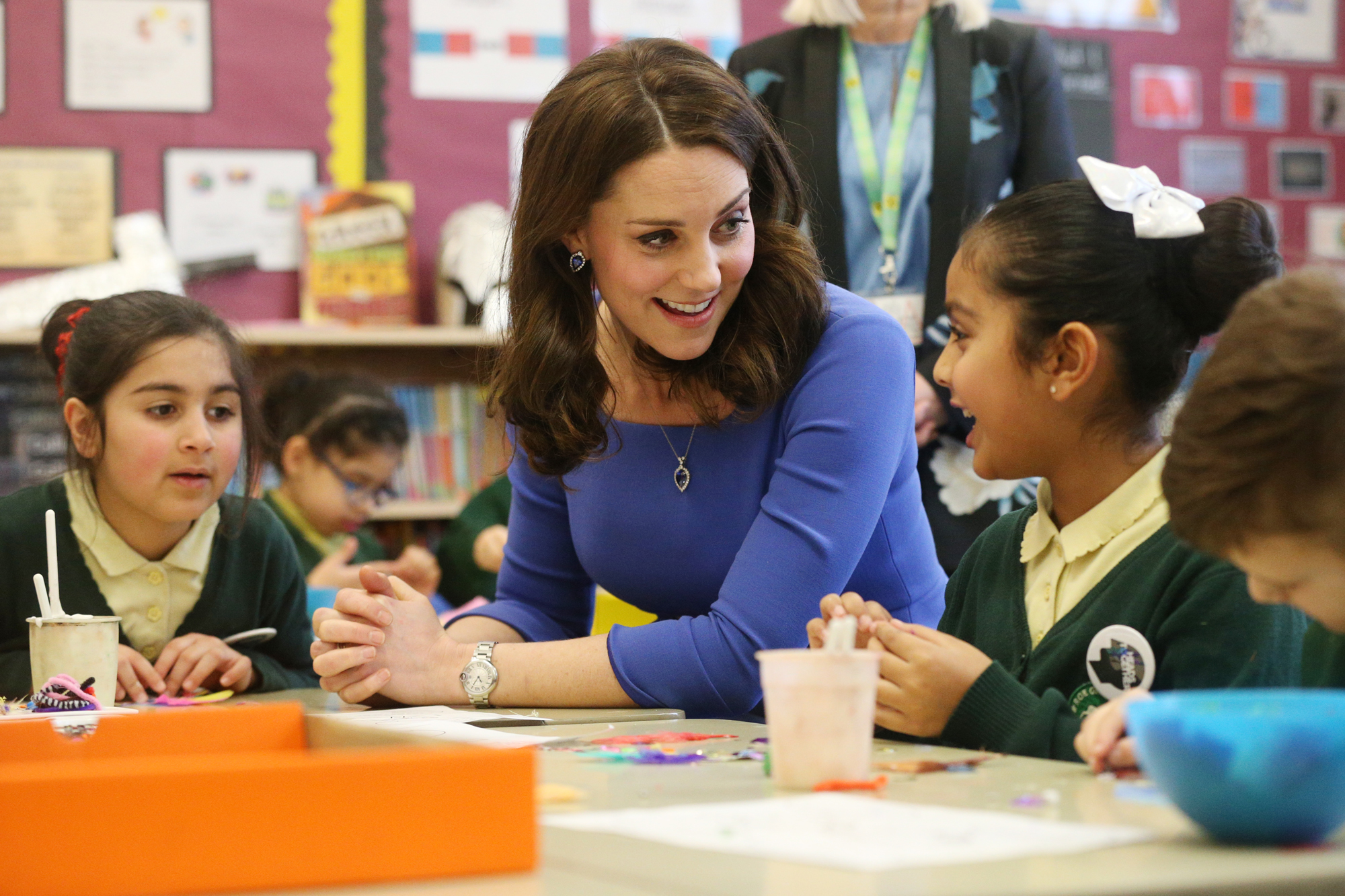 The Duchess Of Cambridge Launches Mental Health Programme For Schools