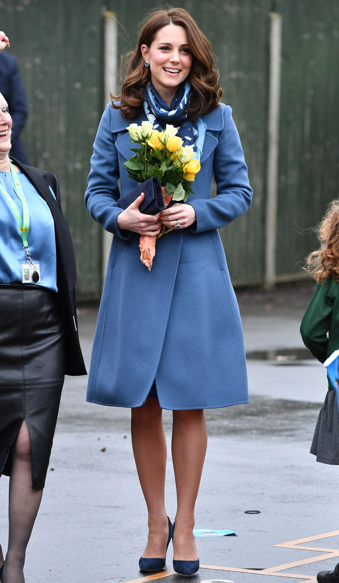 Duchess of Cambridge launches Head Together Initiative, Roe Green Junior School, Brent, London, UK - 23 Jan 2018