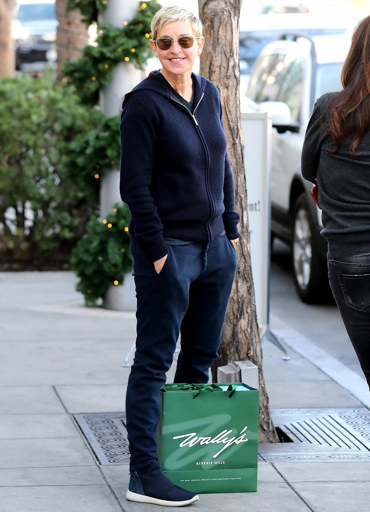 *EXCLUSIVE* Ellen DeGeneres meets with a friend for lunch in Beverly Hills
