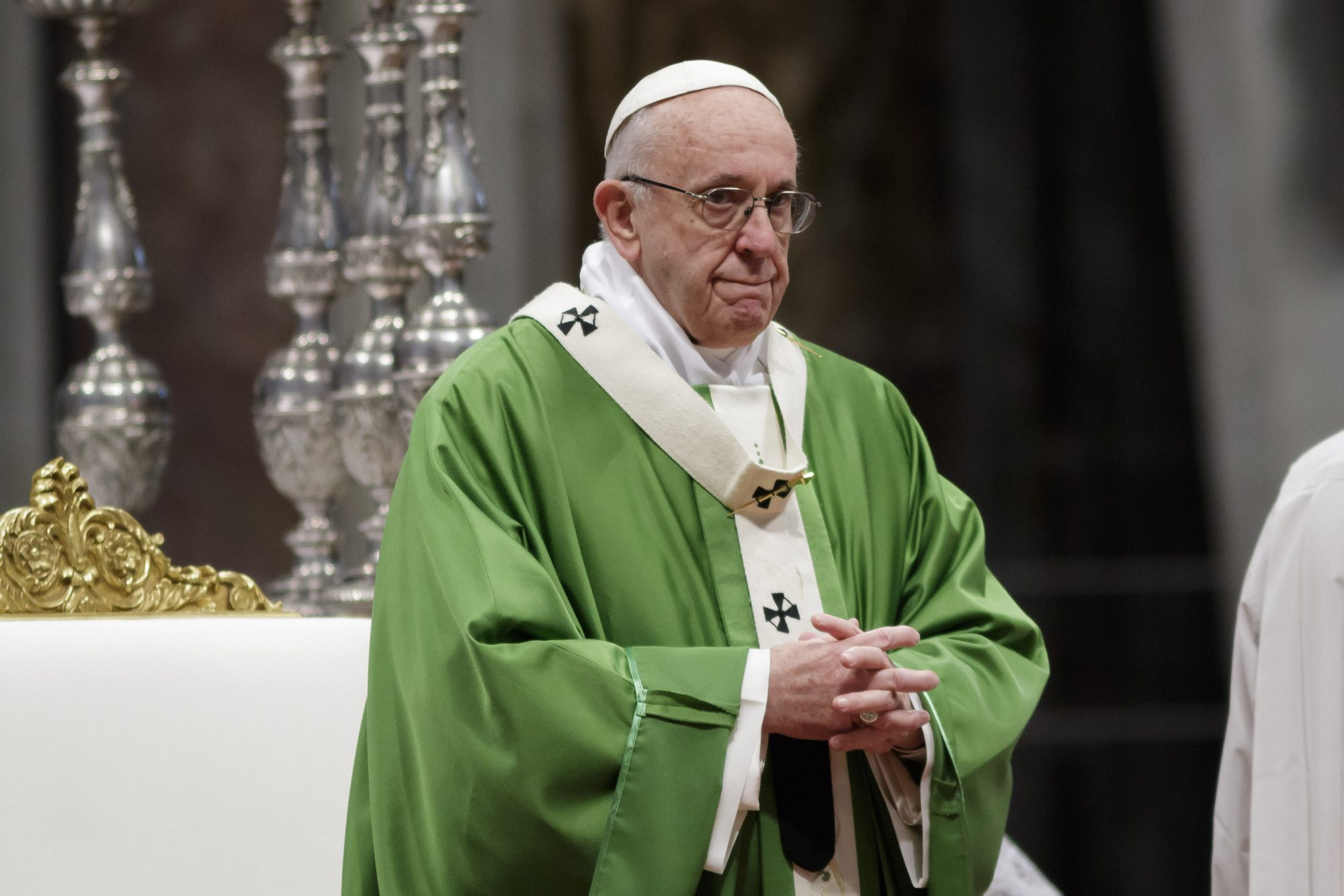 Pope Francis celebrates the World Day of Migrants and