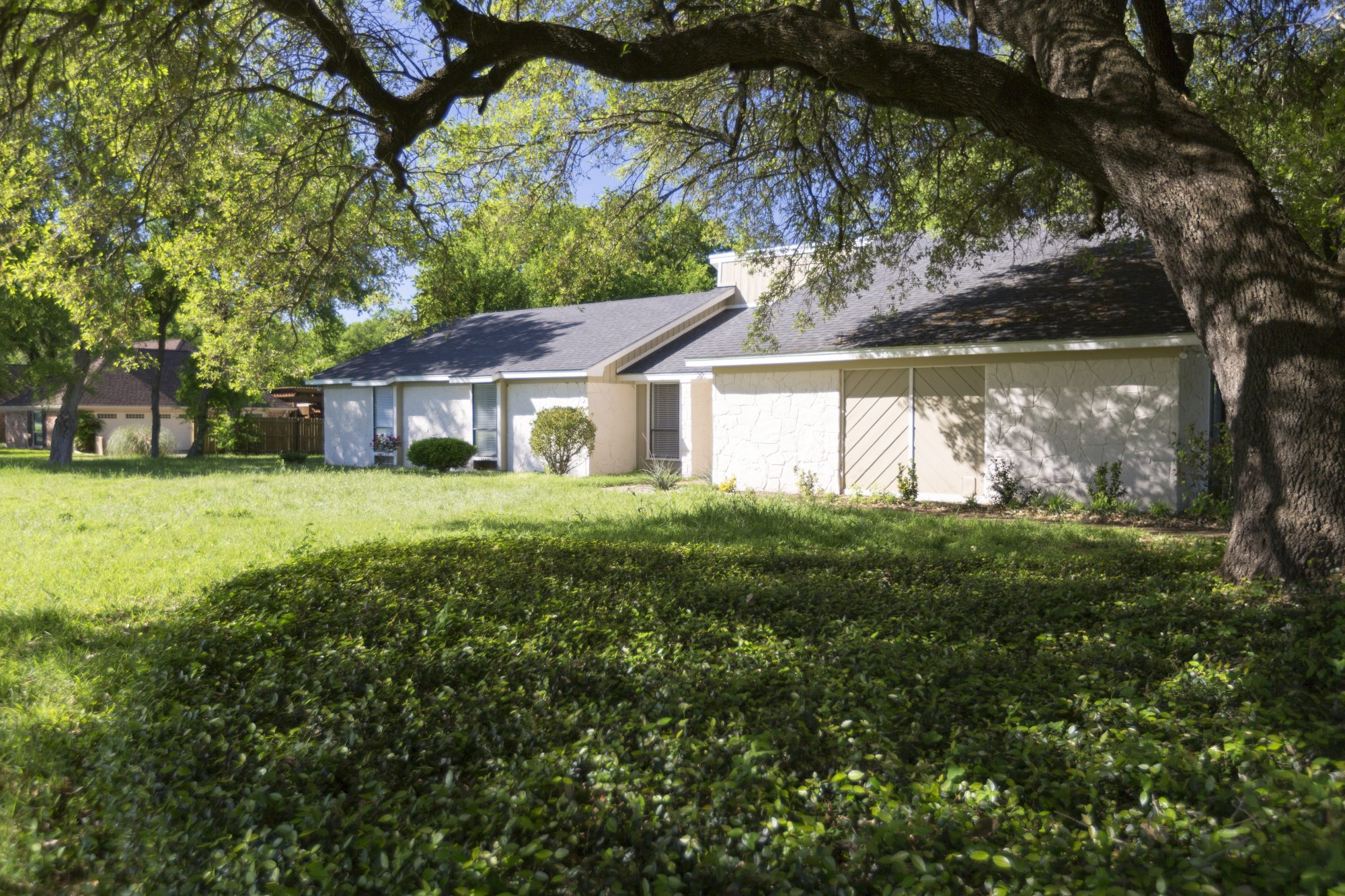 The home before renovations, as seen on Fixer Upper.