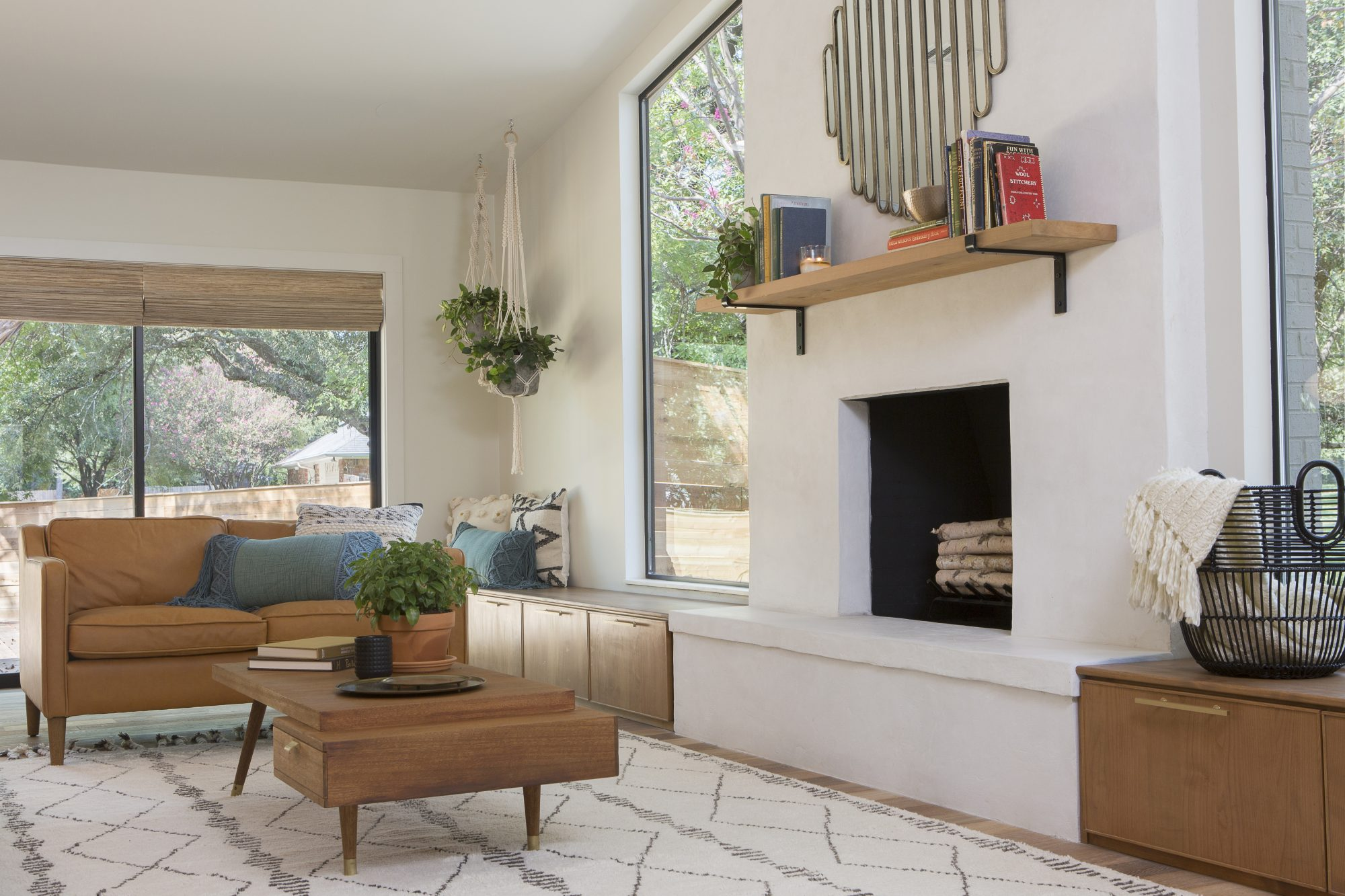 As seen on Fixer Upper, the McCall's living room. (After)