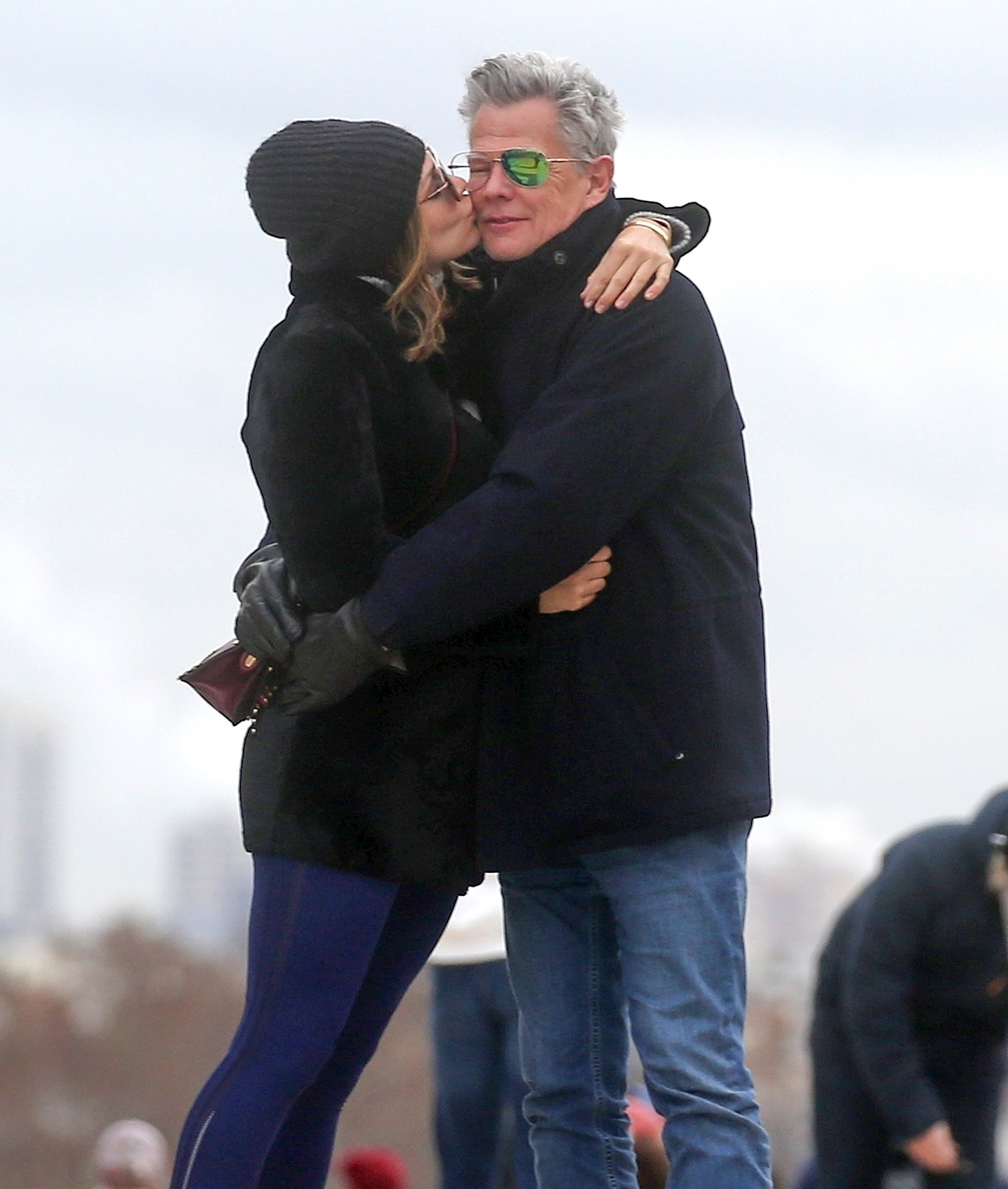 *EXCLUSIVE* Katharine McPhee and David Foster take their love to Paris **WEB EMBARGO UNTIL 9AM PST ON 12/28/17**