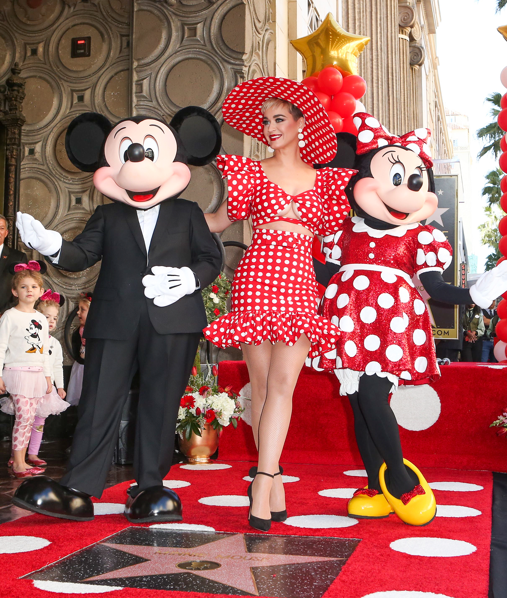 Minnie Mouse Honored with a Star on the Hollywood Walk of Fame, Los Angeles, USA - 22 Jan 2018