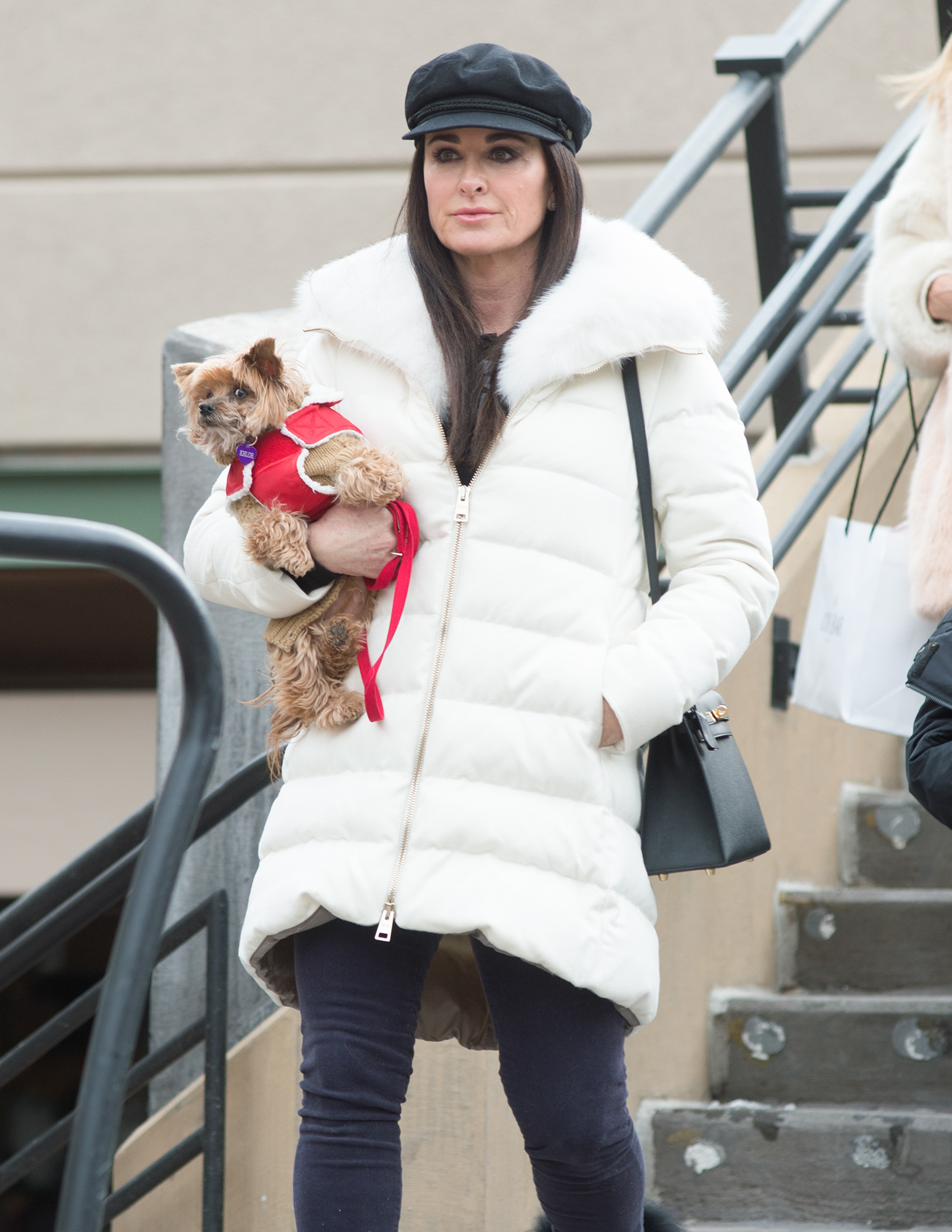 Kyle Richards is Pictured Out and About in Aspen, Colorado.