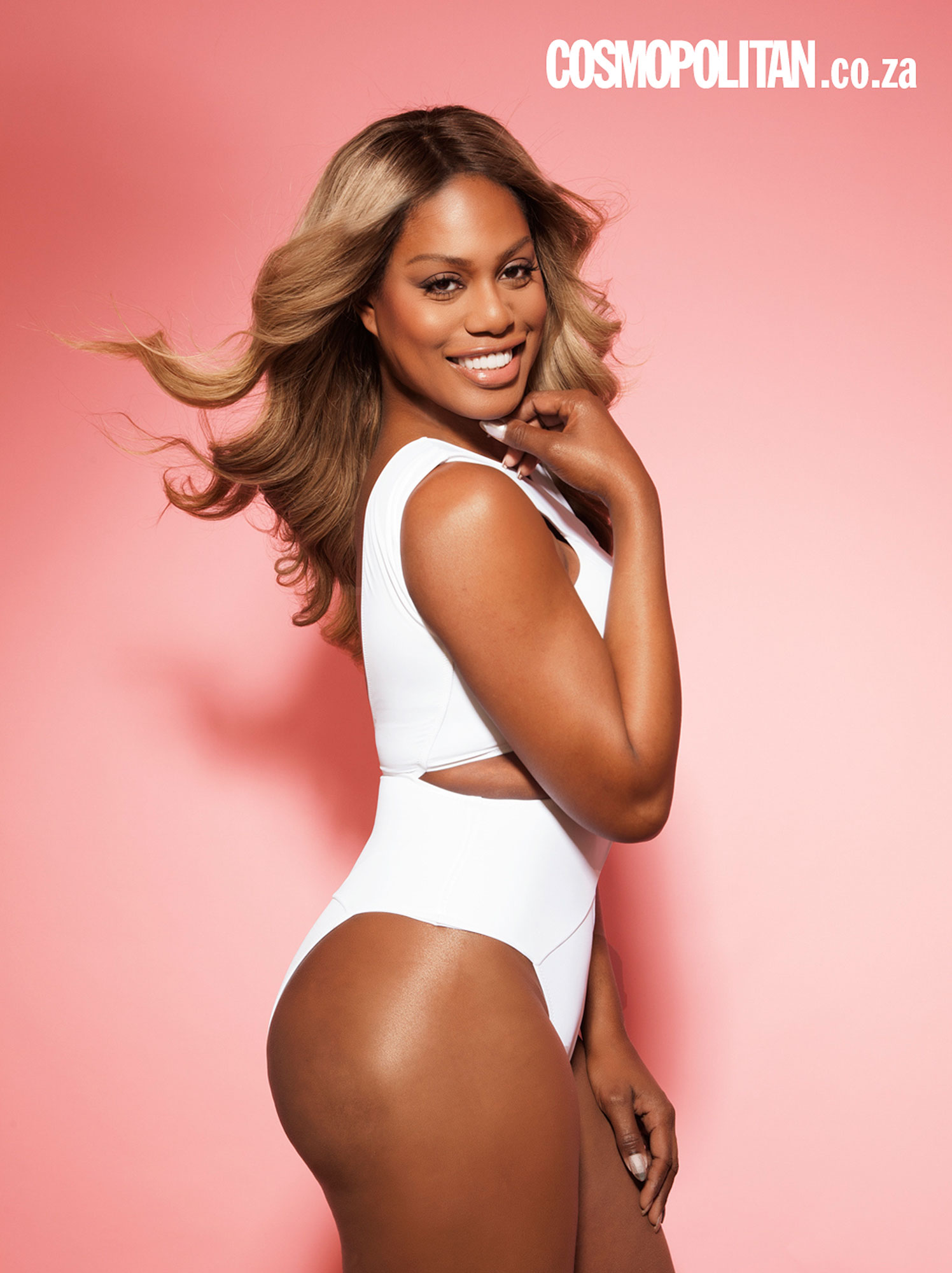 Laverne Cox Cosmo South Africa