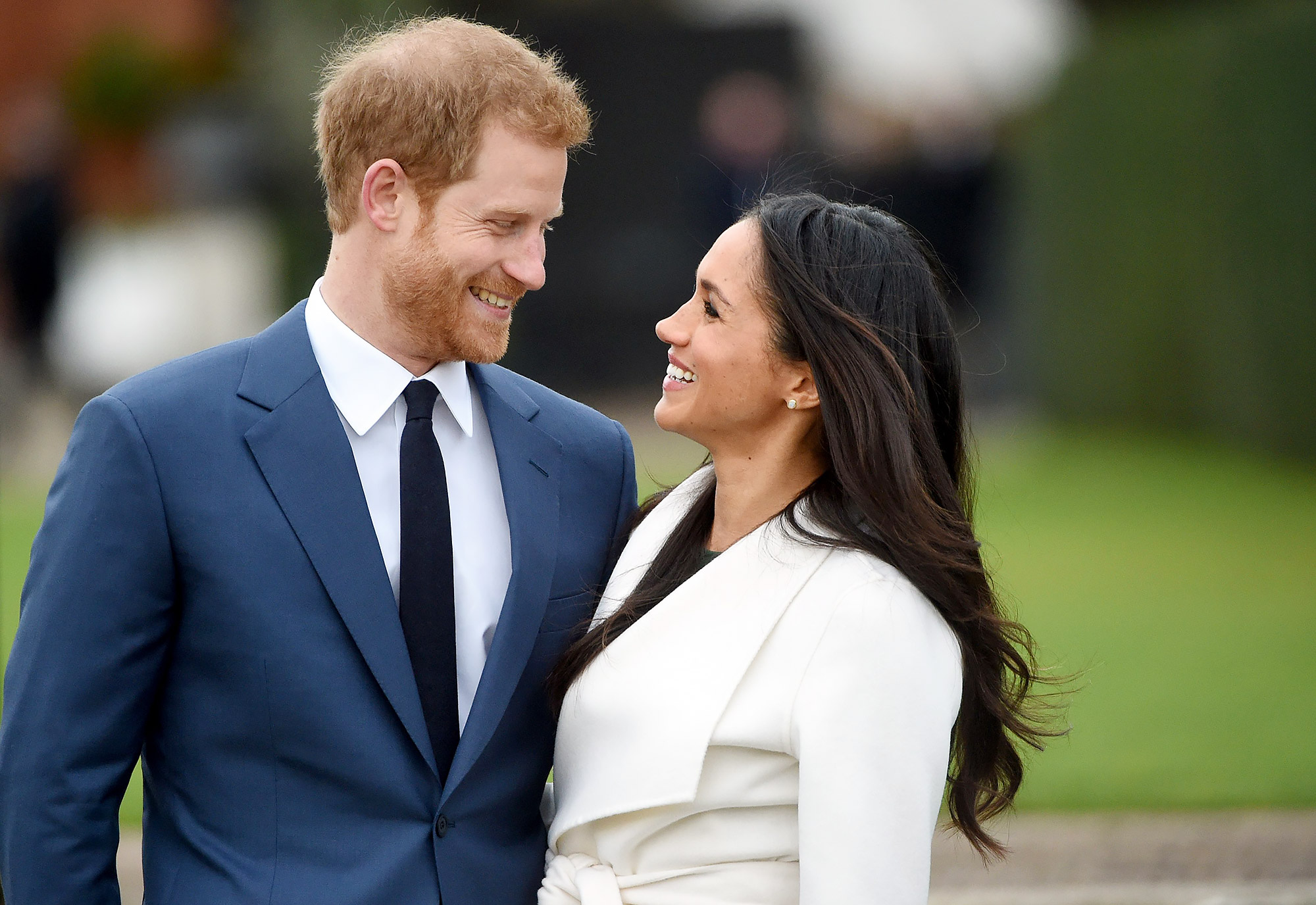 Prince Harry and Meghan Markle engagement in Kensington Palace, London, United Kingdom - 27 Nov 2017