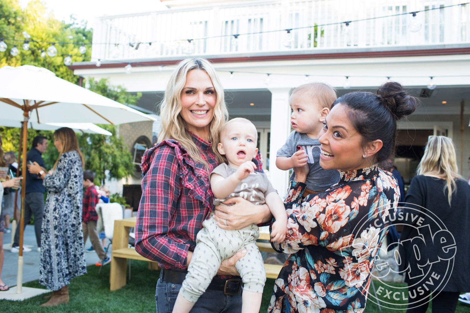 Exclusive on Molly Sims' son's birthday partyCredit: Gia Canali