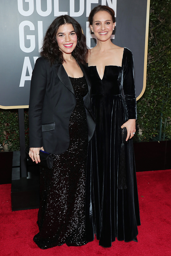 """NBC's """"75th Annual Golden Globe Awards"""" - Red Carpet Arrivals"""