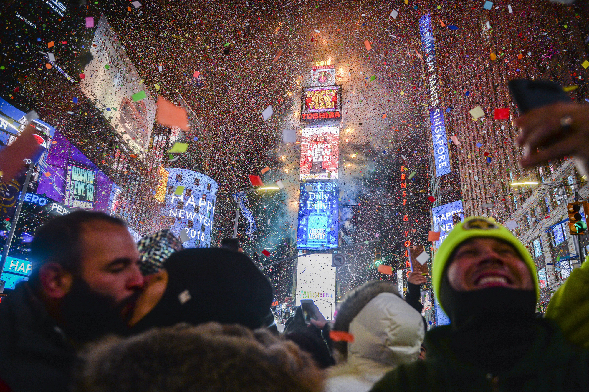 NYC New Year, New York, USA - 01 Jan 2018