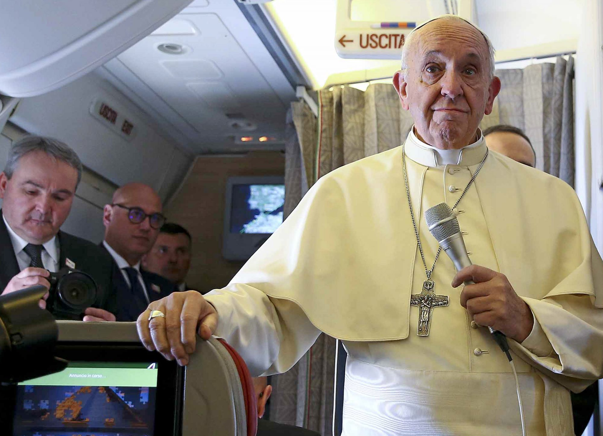 VATICAN-POPE-CHILE-VISIT-PLANE