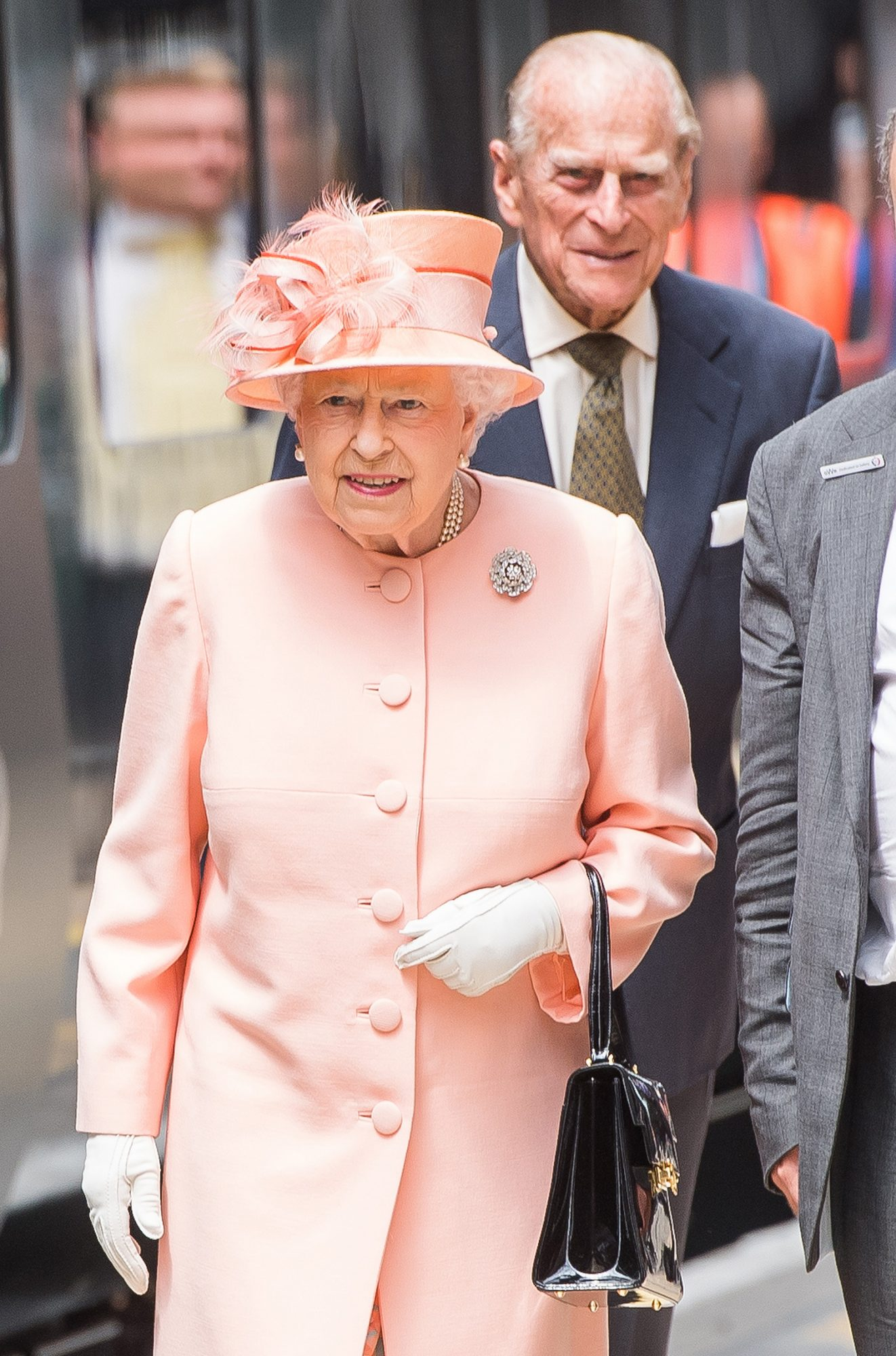 The Queen & Duke Of Edinburgh Mark The 175th Anniversary Of The First Train Journey By A British Monarch