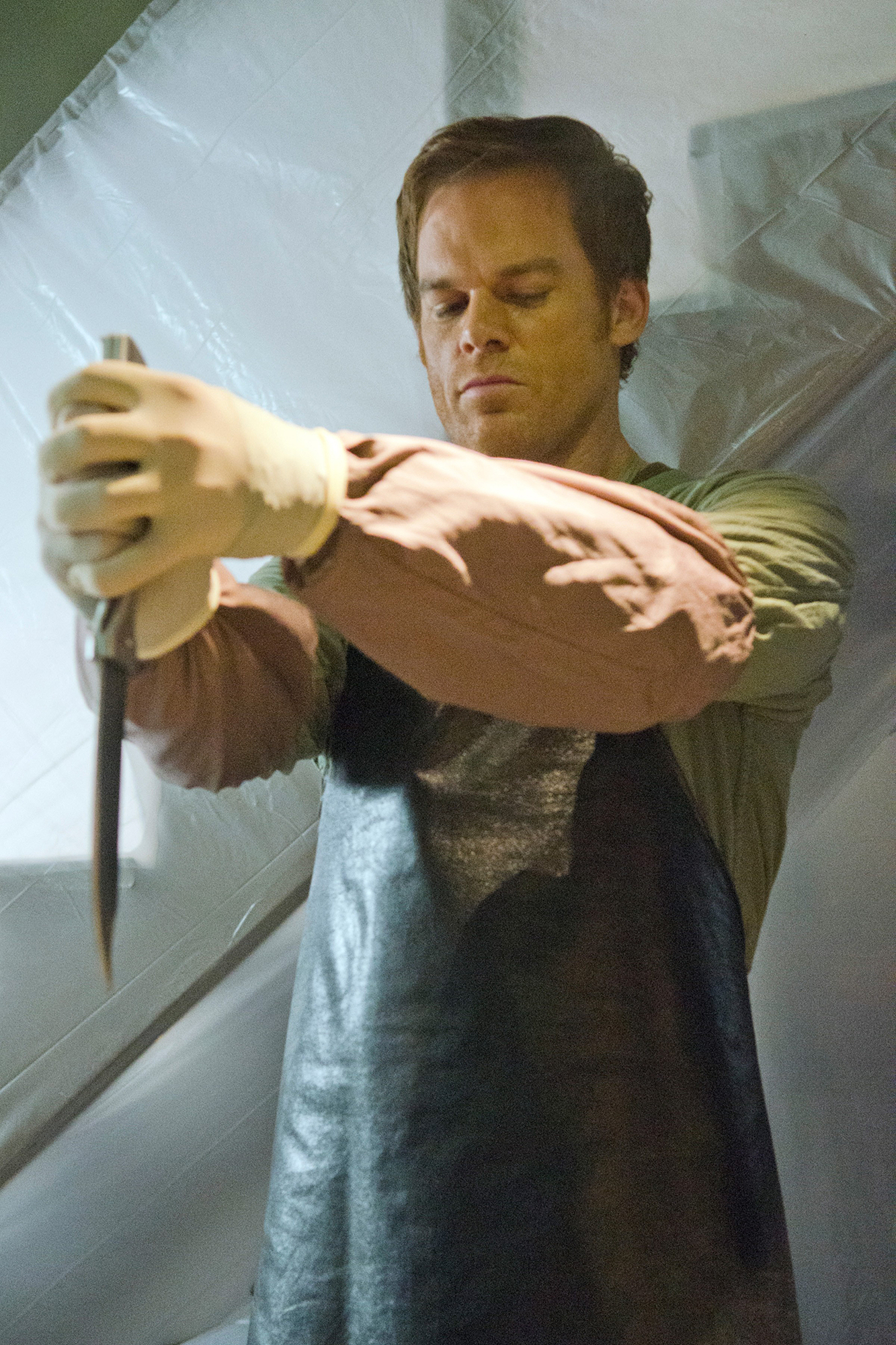 DEXTER, Michael C. Hall in 'The Dark...Whatever' (Season 7, Episode 10, aired December 2, 2012), 200