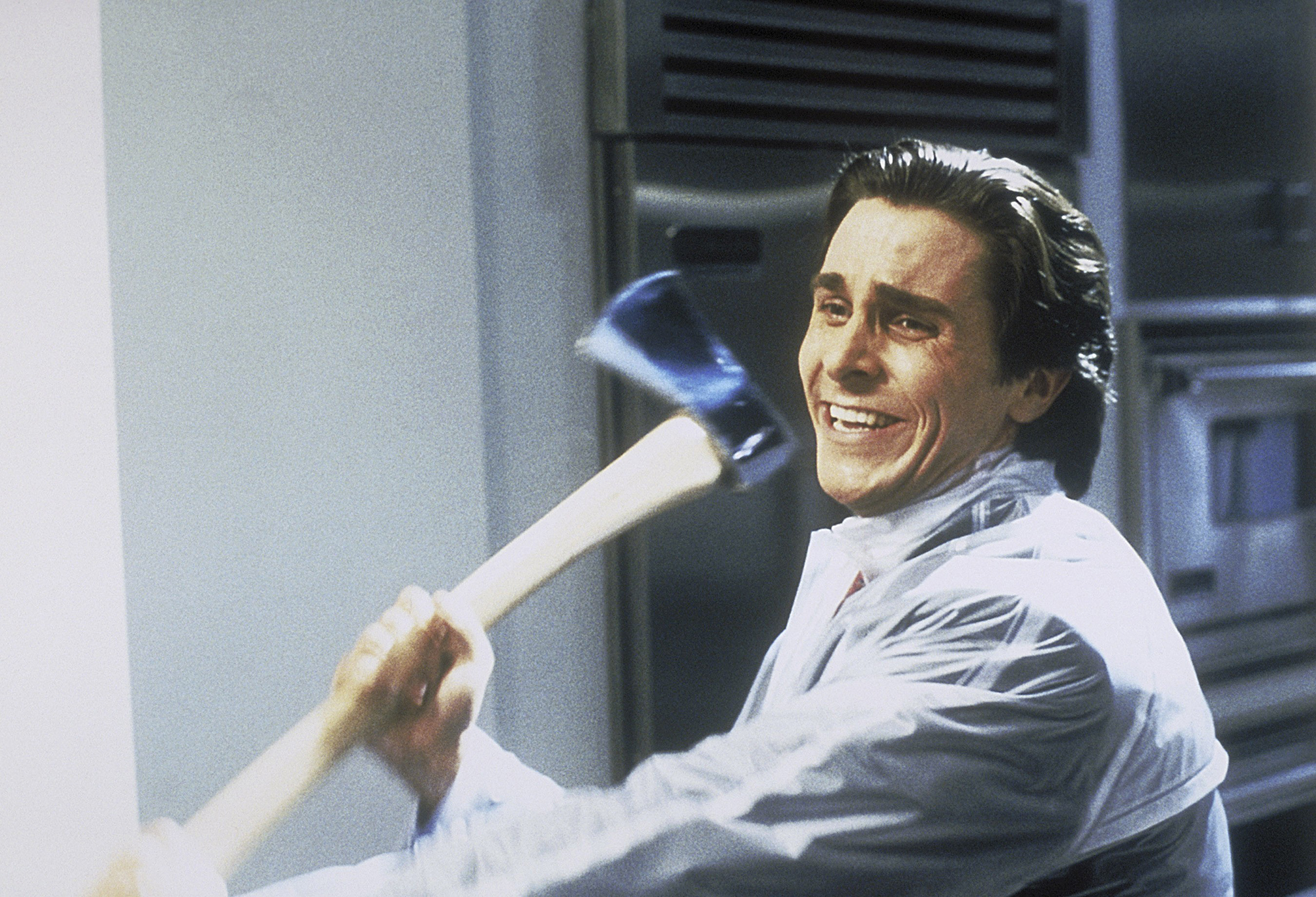 AMERICAN PSYCHO, Christian Bale, 2000. ©Lions Gate/courtesy Everett Collection