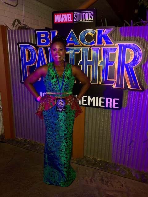Sope Aluko Black Panther Premiere photo diaryCourtesy Sope Aluko