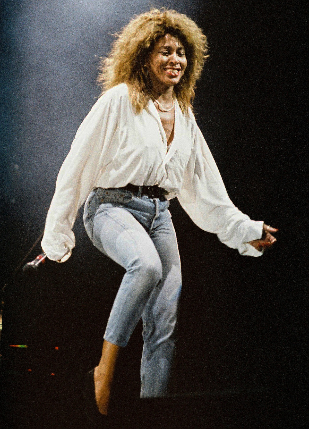 Tina Turner Performs At Woburn Abbey in 1990