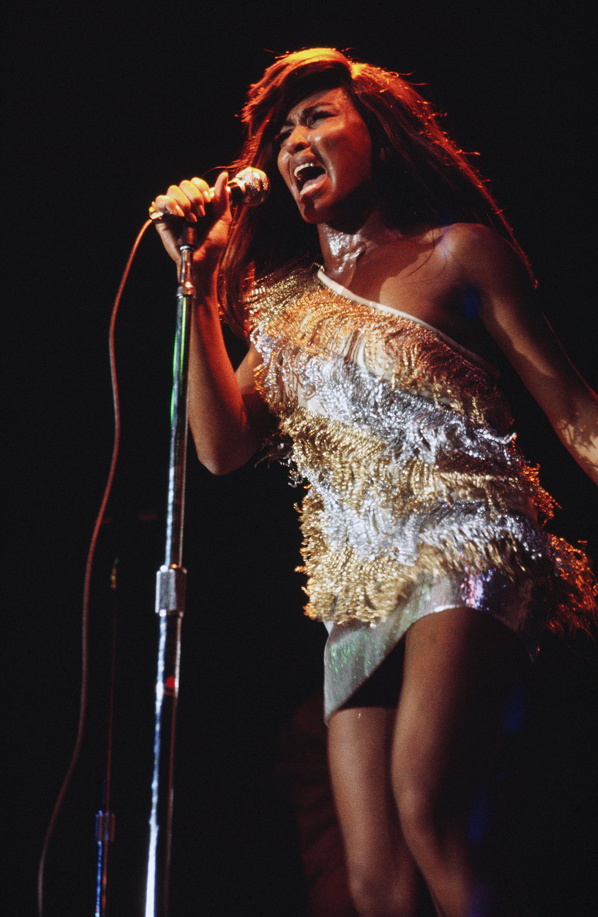 Tina Turner Performs in New York