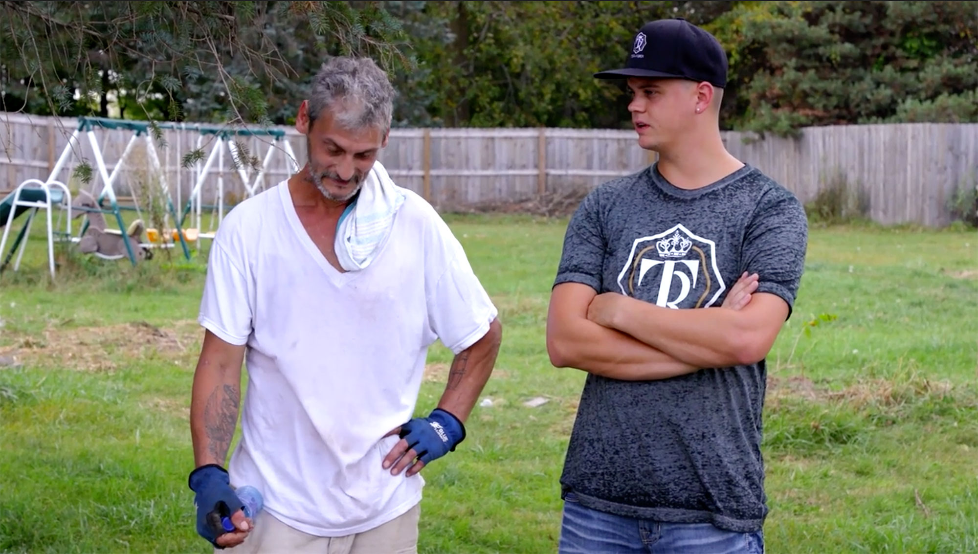 Tyler Baltierra Helps His Dad Butch Decide to Enter RehabCredit: MTV