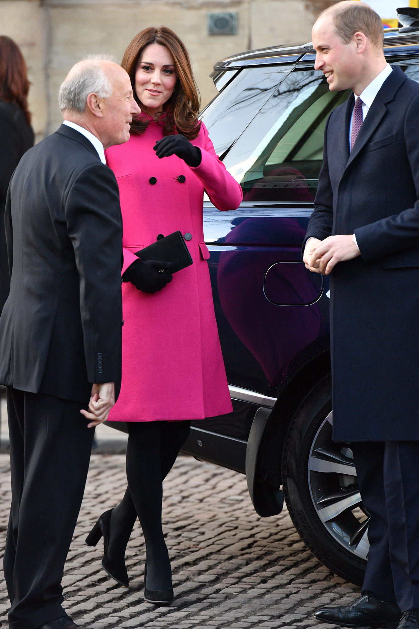 Prince William and Catherine Duchess of Cambridge visit Coventry, UK - 16 Jan 2018