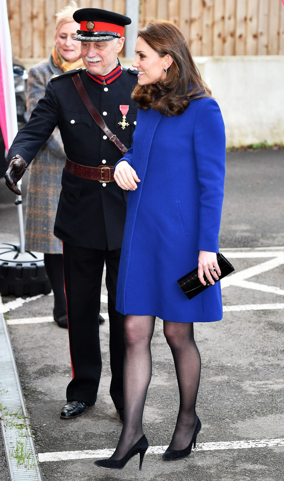 Catherine Duchess of Cambridge visits an Action on Addiction Community Treatment Centre, Wickford, Essex - 07 Feb 2018