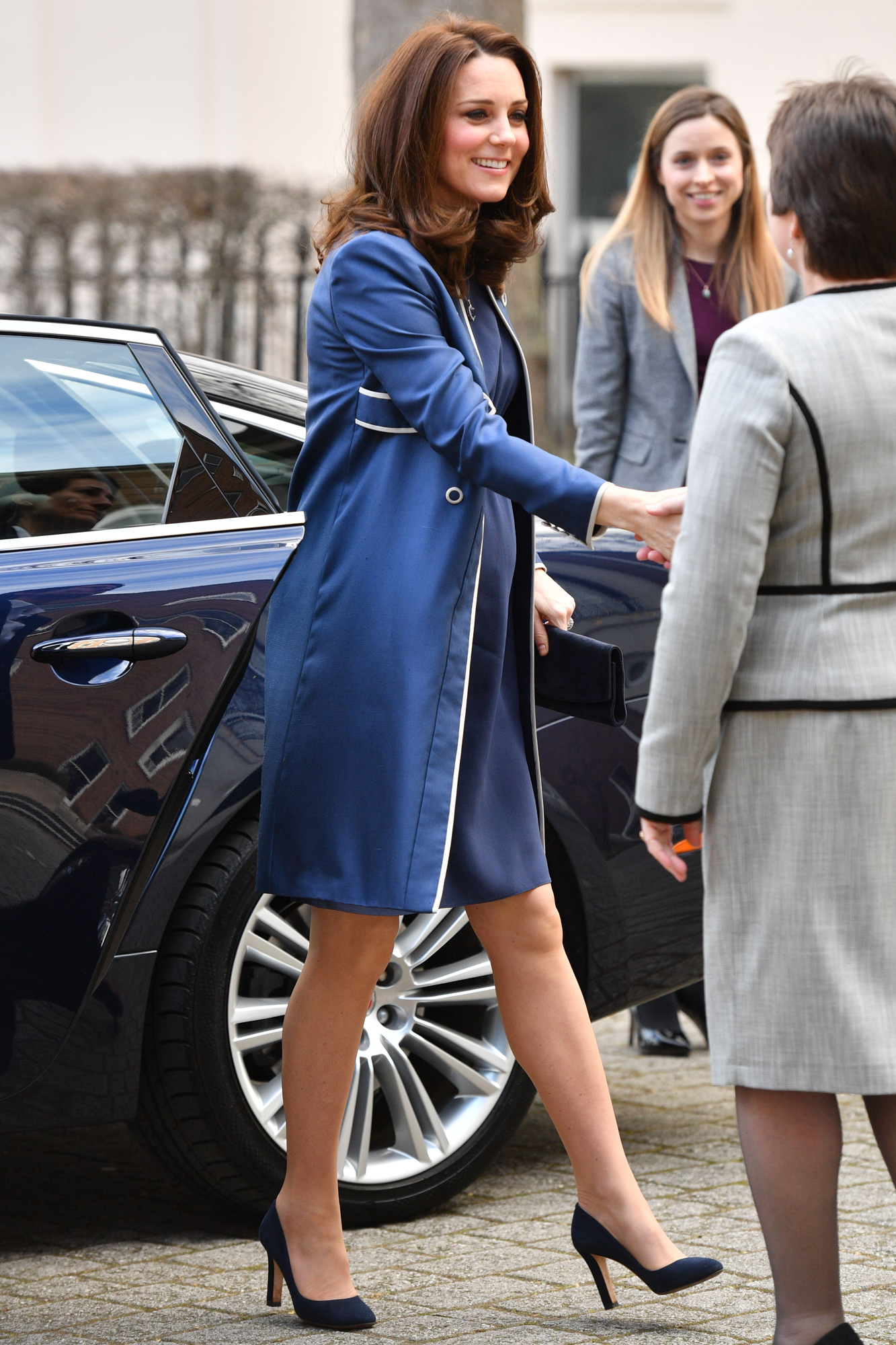 Catherine Duchess of Cambridge visits the Royal College of Obstetricians and Gynaecologists, London, UK - 27 Feb 2018
