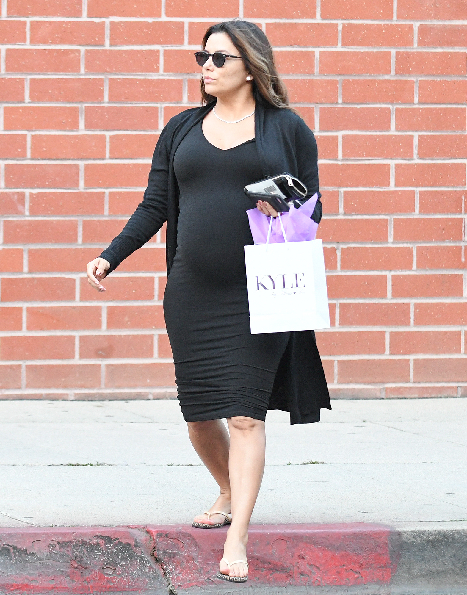 Eva Longoria out and about