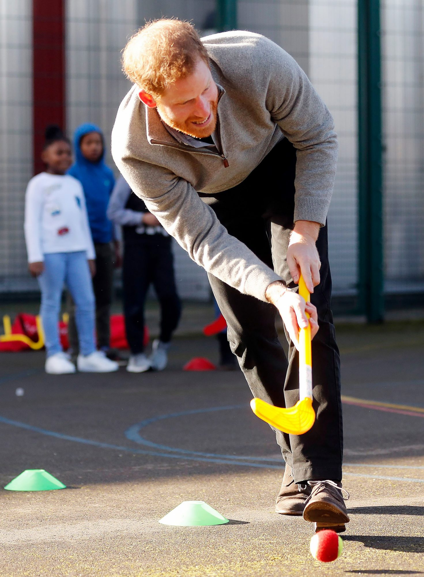 Fit and Fed campaign at the Roundwood Youth Centre, London, UK - 15 Feb 2018