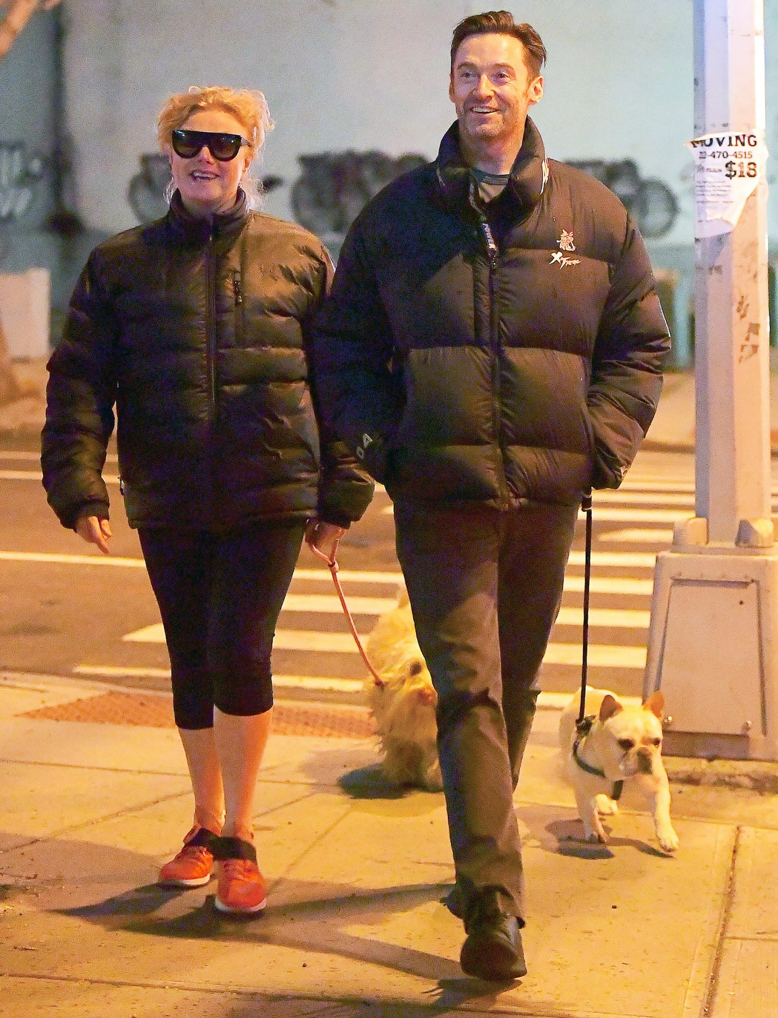 EXCLUSIVE: Hugh Jackman and Deborra-Lee Furness Prove Love Still Exists in Hollywood as they Enjoy Romantic Stroll in NYC