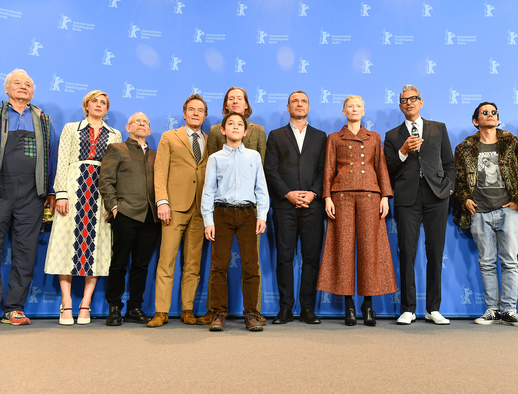 'Isle of Dogs' Photo Call - 68th Berlinale International Film Festival