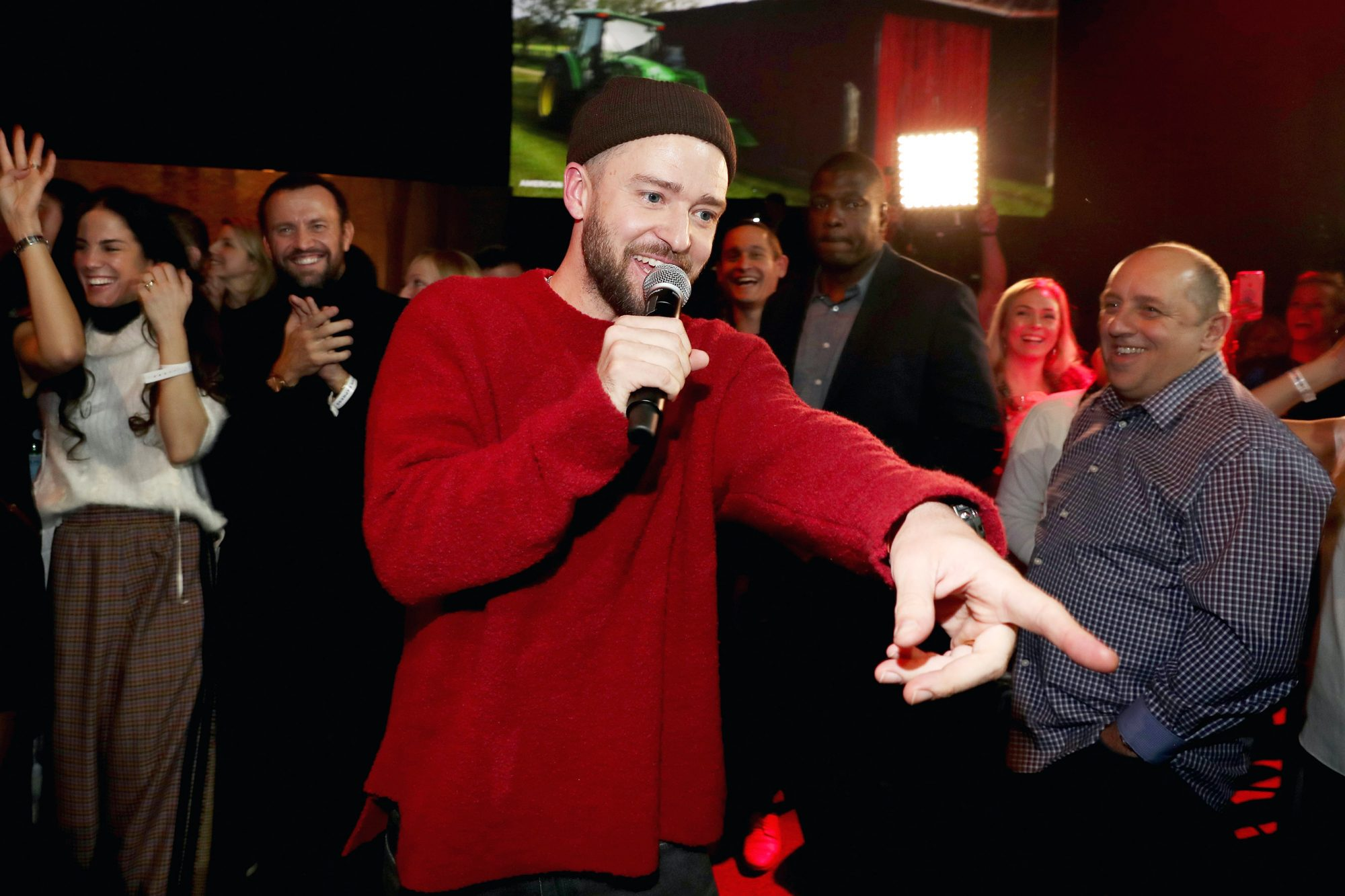 """American Express x Justin Timberlake """"Man Of The Woods"""" Listening Session At Paisley Park"""