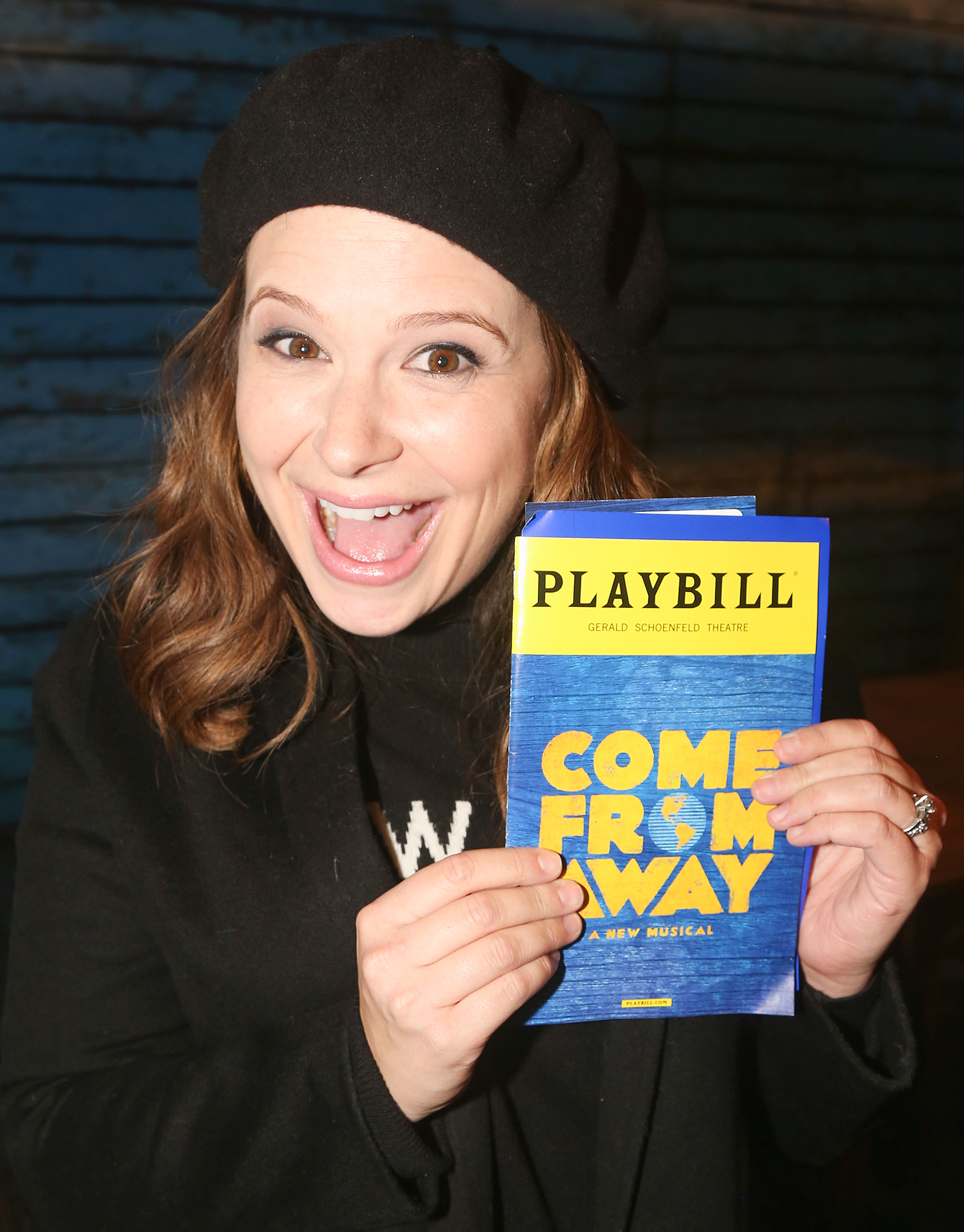 Celebrities Visit Broadway - January 30, 2018