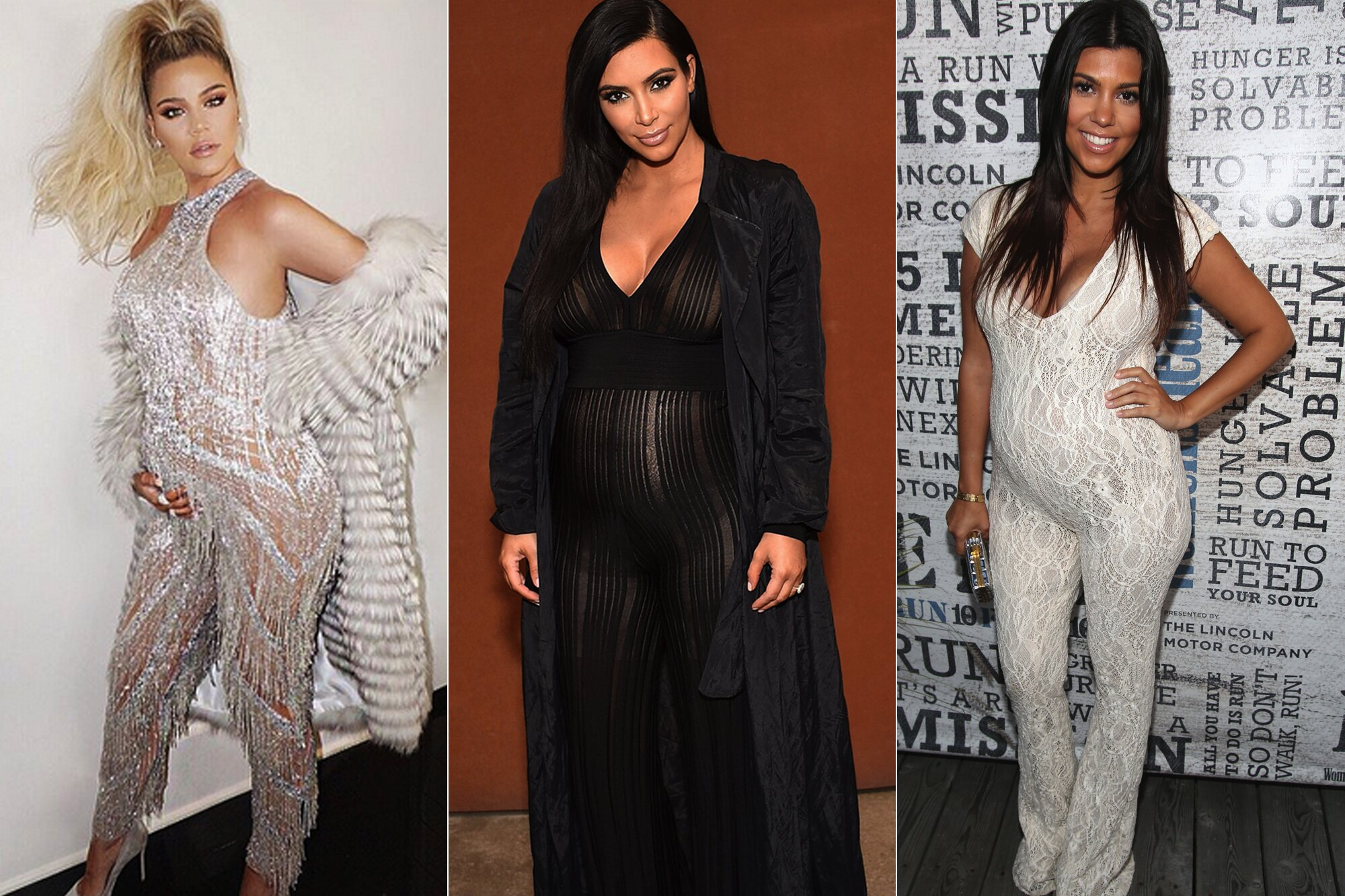 A Complete Guide To The Kardashians Maternity Style Must Haves People Com