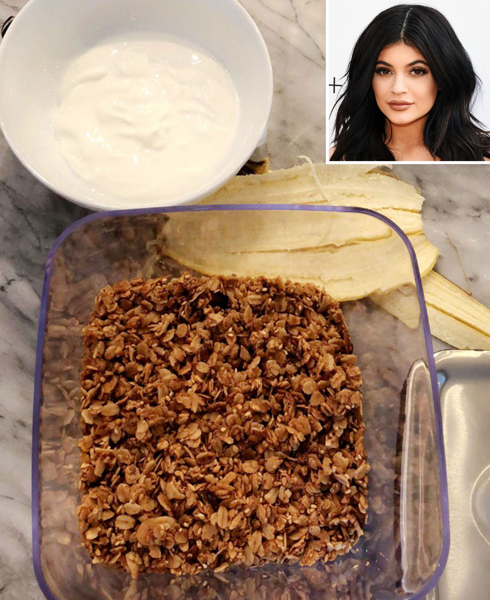 KYLIE'S GRANOLA BOWL