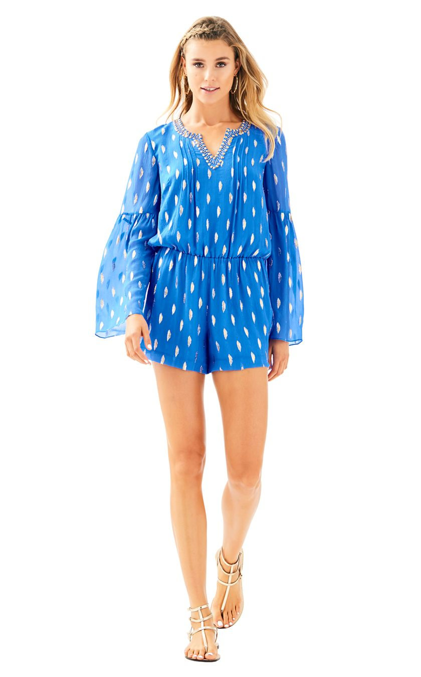 lilly p romper