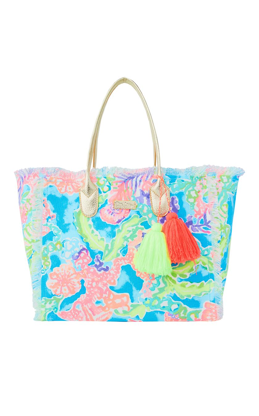 lilly p tote